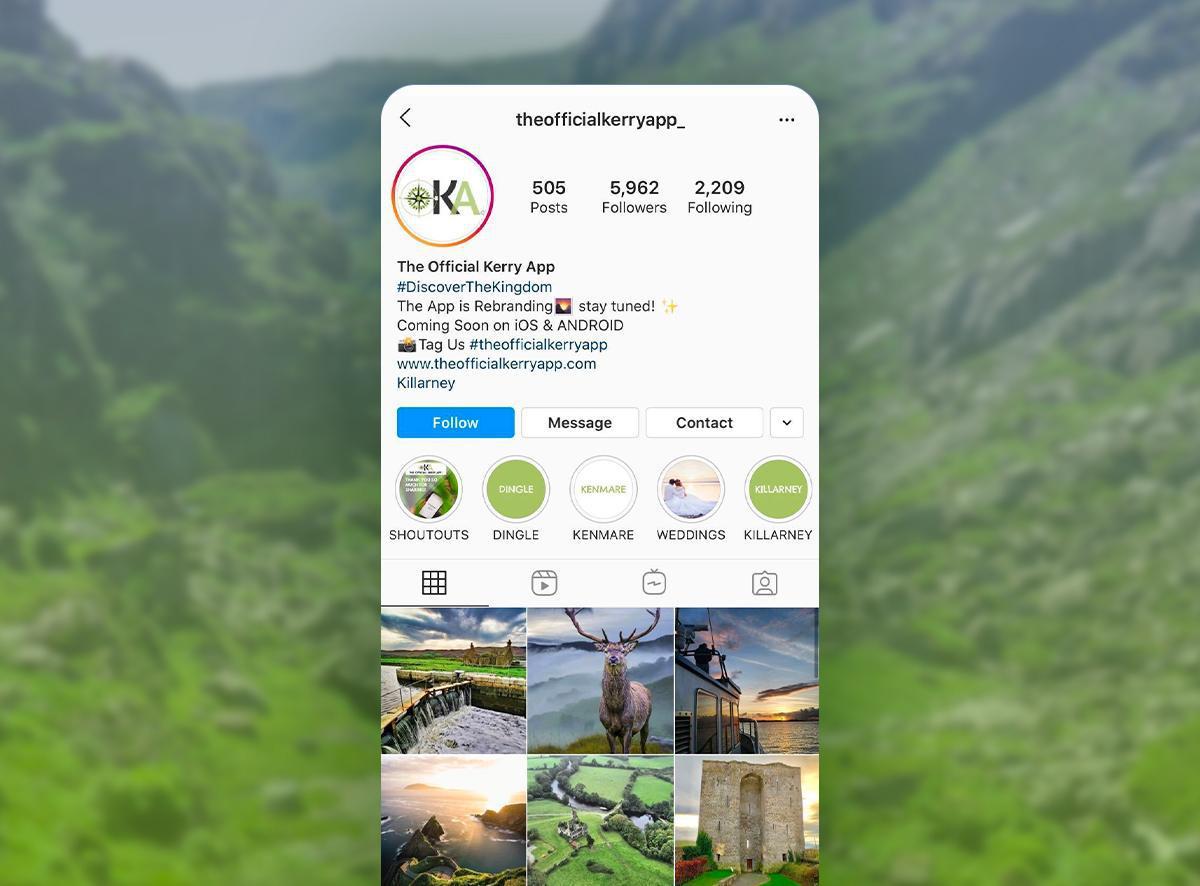 La aplicación Official Killarney App - Actualización
