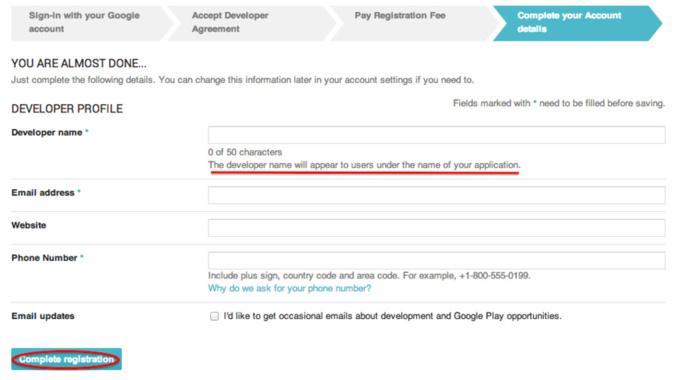 ¿Cómo abrir una cuenta de desarrollador de Google Play?