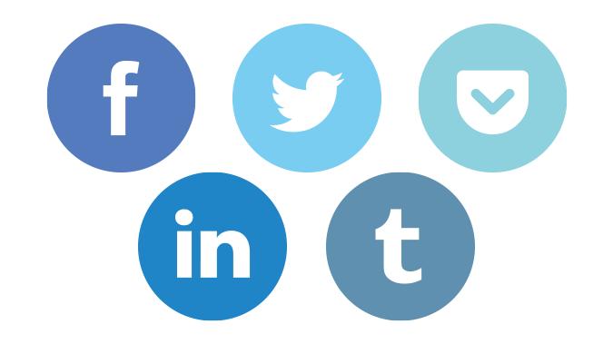 Cómo conectar las redes sociales que comparten características en tu app