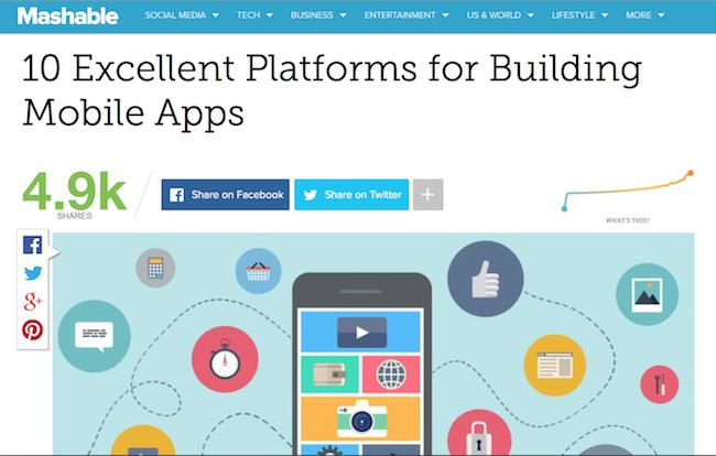 El aumento de los app builders