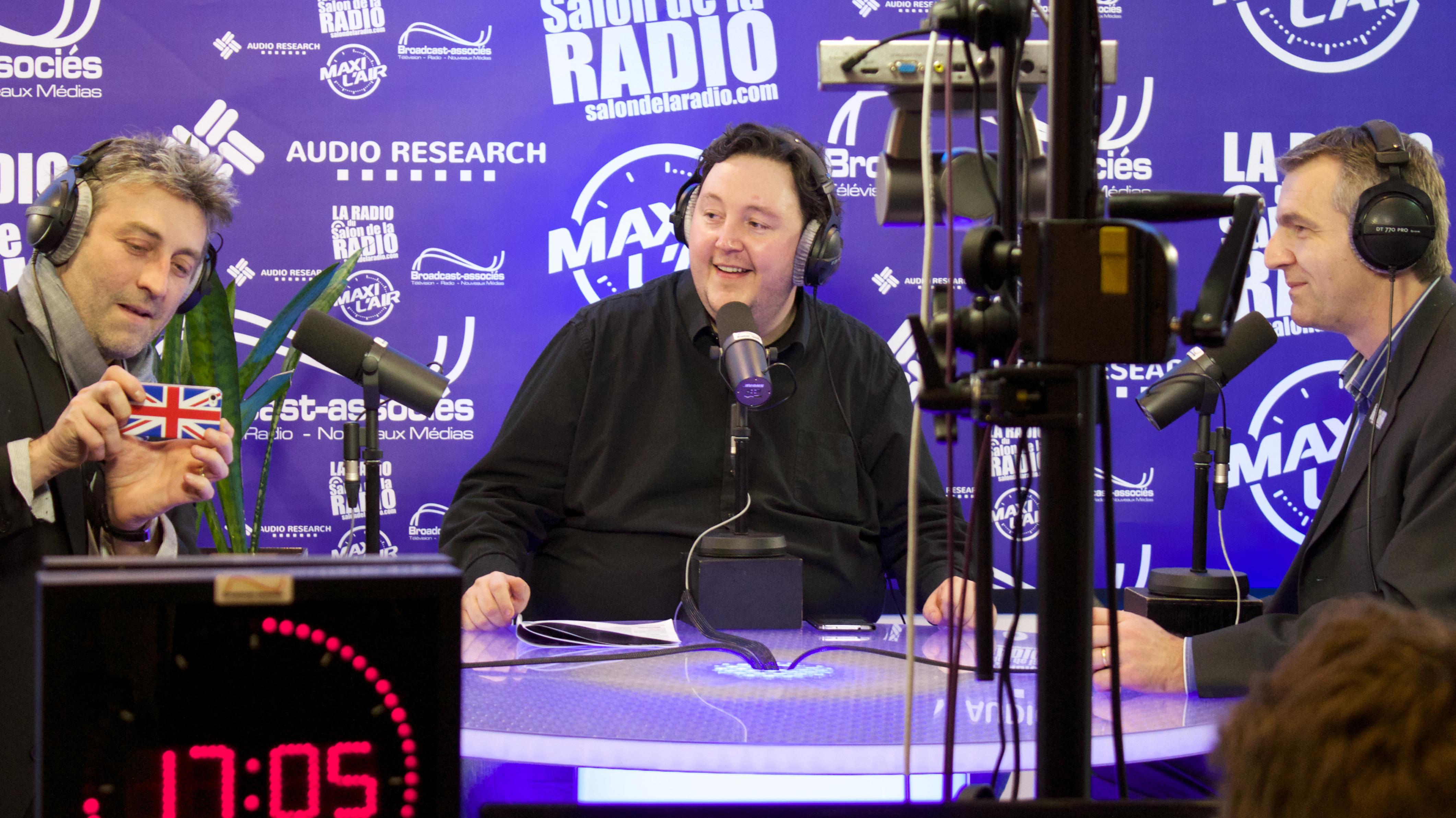 3 días @ Salon de la Radio en París