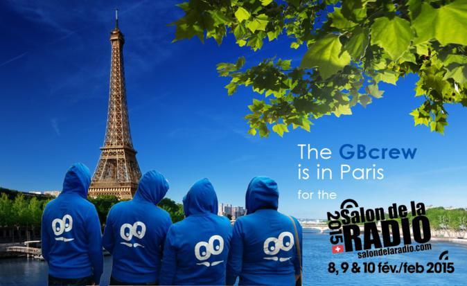 GoodBarber en el Salón de la Radio en París