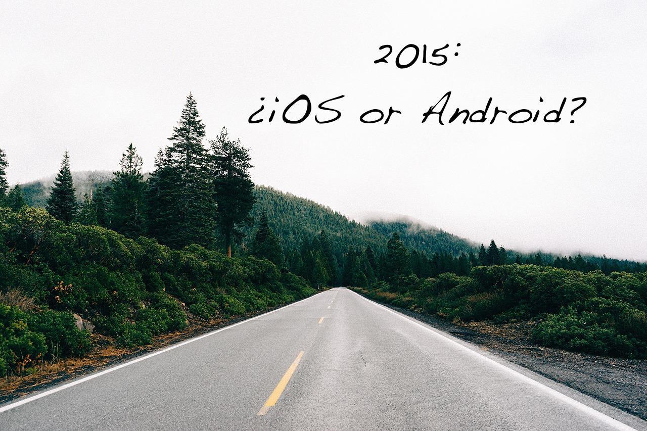 ¿El 2015 será el año de iOS o Android?