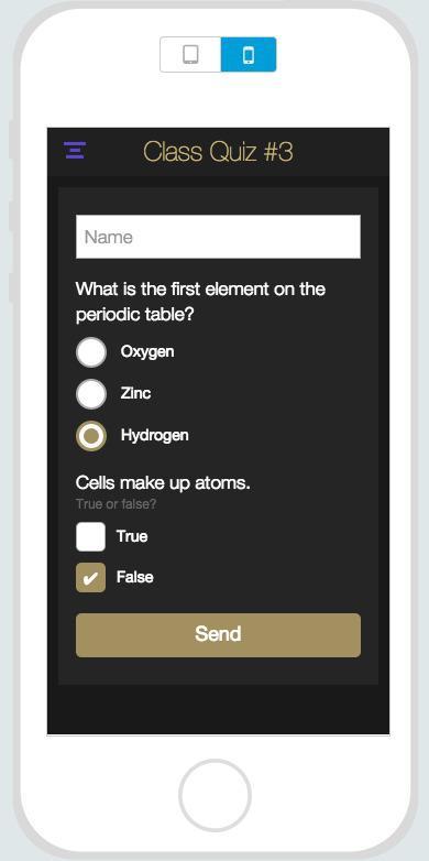 ¿Los móviles ya forman parte de las clases?