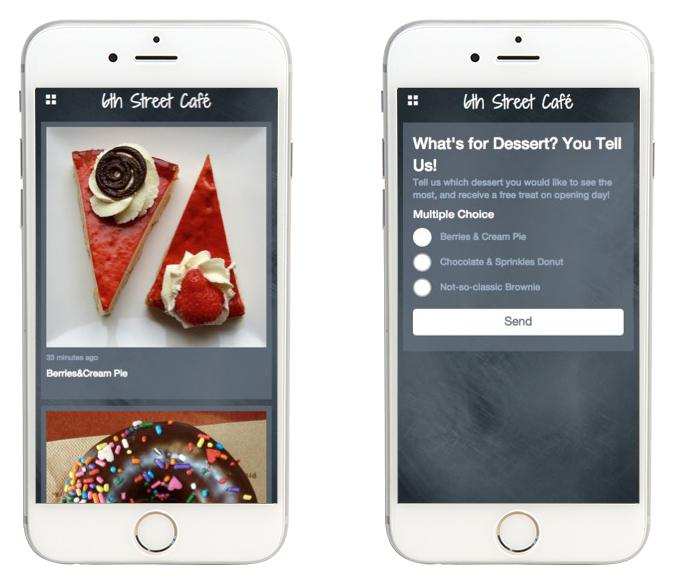 ¿Cuál aparece primero: la empresa o la app?