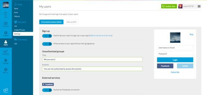 """Gestiona y filtra el contenido de tu app con el Add-On """"Grupos de usuarios"""""""
