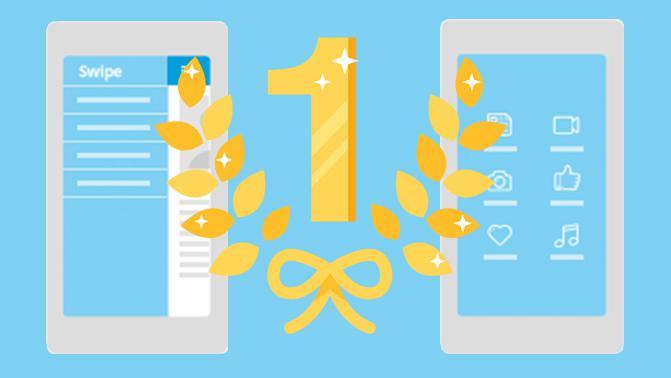 Modos de navegación móvil: Grid y Swipe