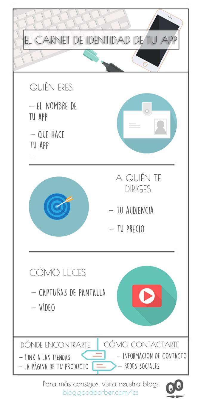 Cómo obtener una reseña de tu app #infografía