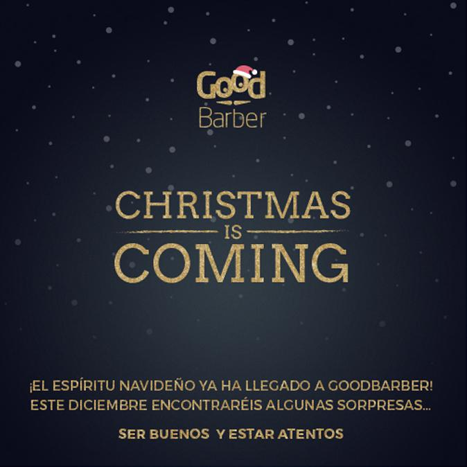 Se acerca la Navidad en GoodBarber