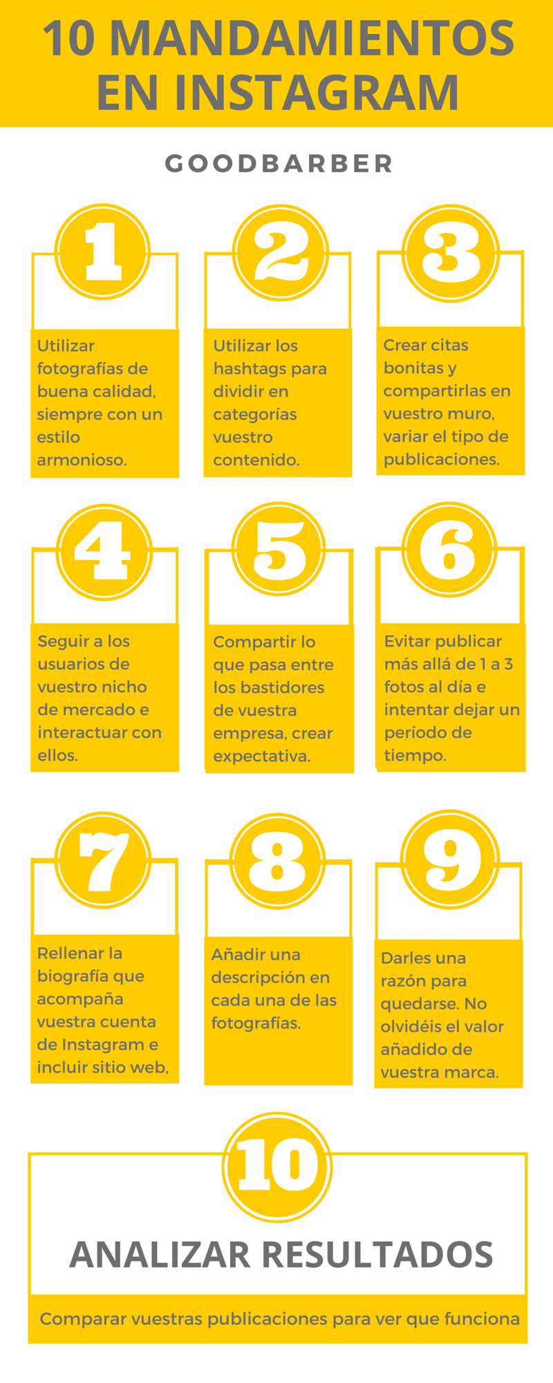 Los 10 mandamientos de las marcas en Instagram