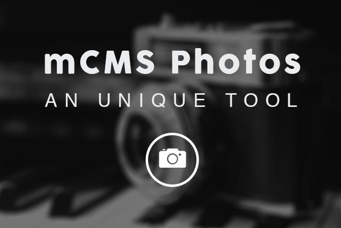 Con la sección mCMS Fotos, coloca tus fotografías dentro de tu app fácilmente
