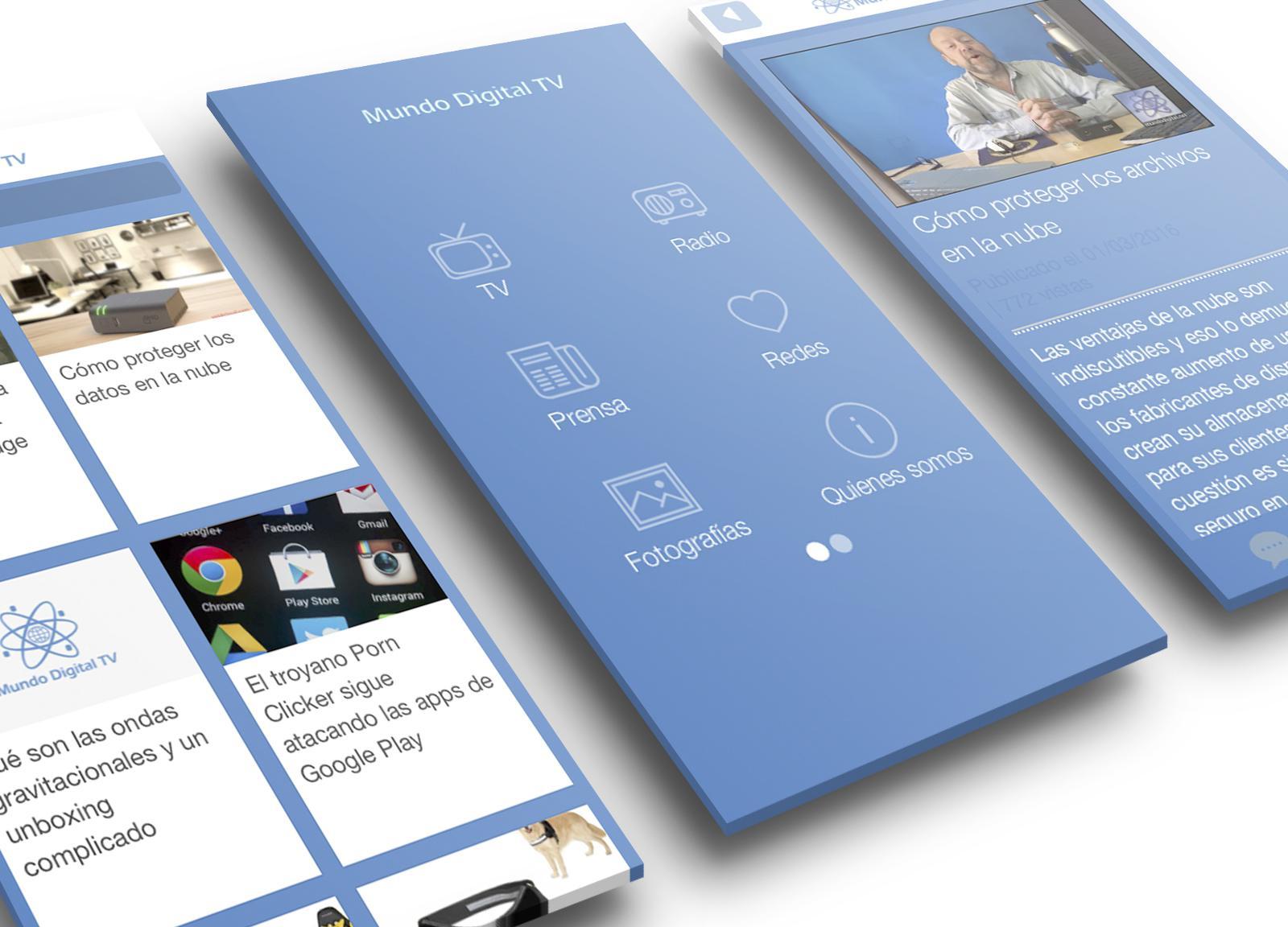 Mundo Digital, la app que conecta sus usuarios con sus programas en directo