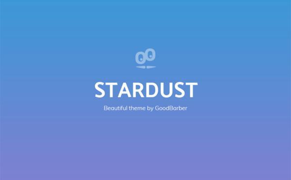 Nuevo Tema en GoodBarber 4.0: Stardust