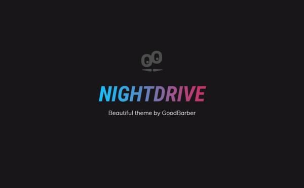 Nuevo tema GoodBarber 4.0: Nightdrive