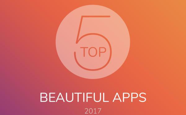 Top 5 Beautiful Apps del 2017