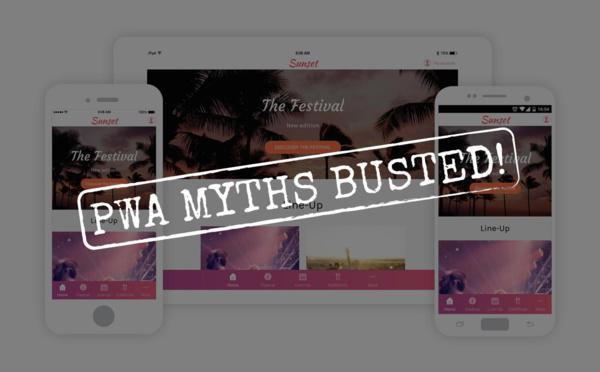 Los Mitos sobre las Progressive Web Apps