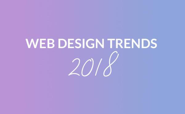 Top 5 de las tendencias del diseño web en 2018