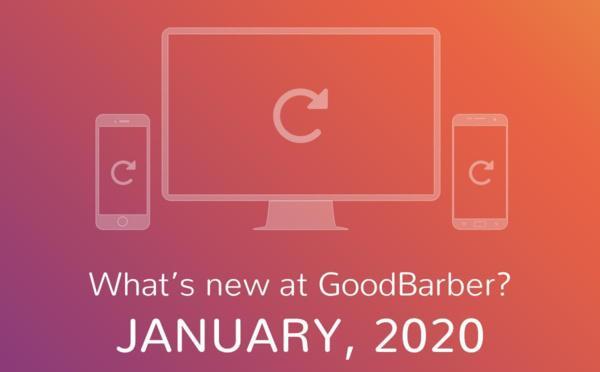 ¿Qué hay de nuevo en GoodBarber? Enero 2020