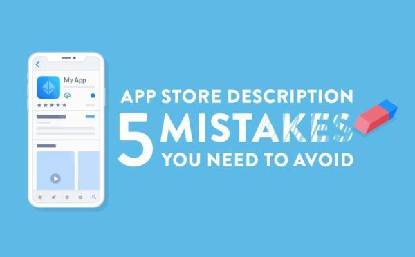 Descripción en la App Store de Apple: 5 errores a evitar