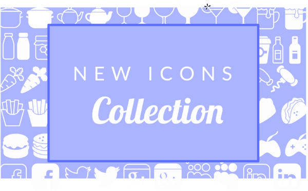 Más de 1500 iconos para su apps