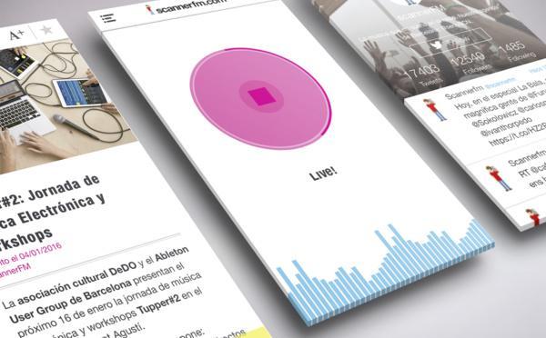 ScannerFM App La Música Que No Suena En La Radio