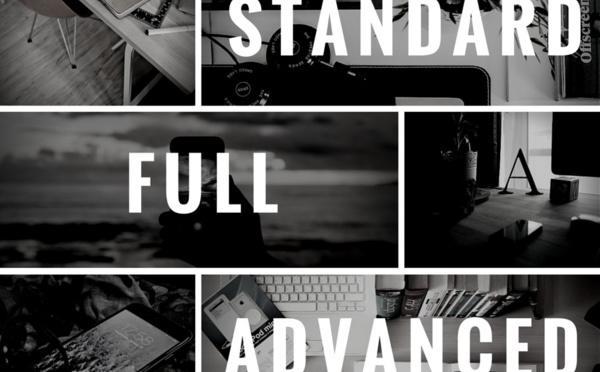 Qué plan debo elegir para mi App: STANDARD, FULL, ADVANCED