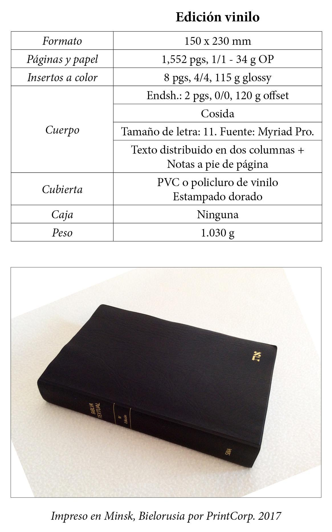 Biblia Textual IV