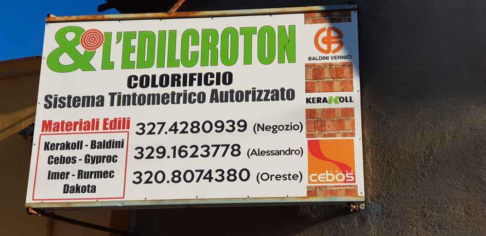 L'EdilKroton - Edilizia e Colorificio