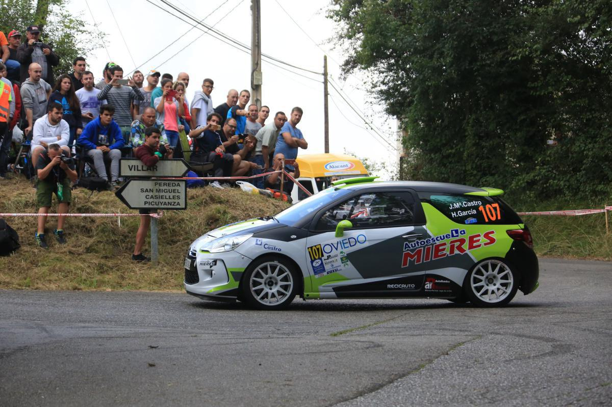 TC 9   Iván Ares achieves his second scratch of the rally