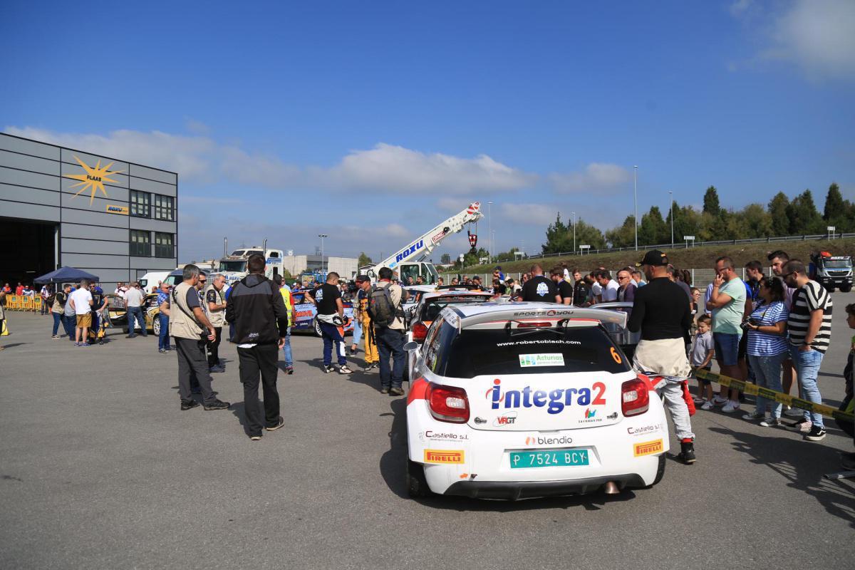 Mass regrouping in El Roxu