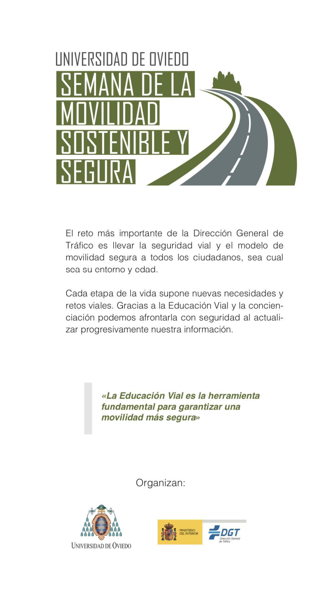 Semana de la Movilidad Sostenible y Segura UNIOVI