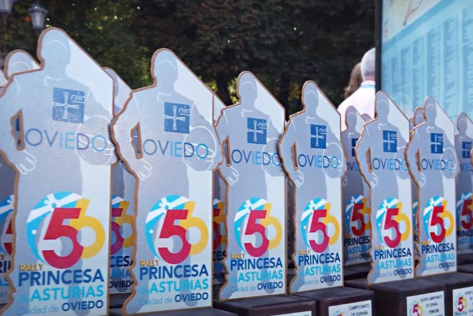 Todas las copas oficiales estarán presentes en el Rally Princesa de Asturias