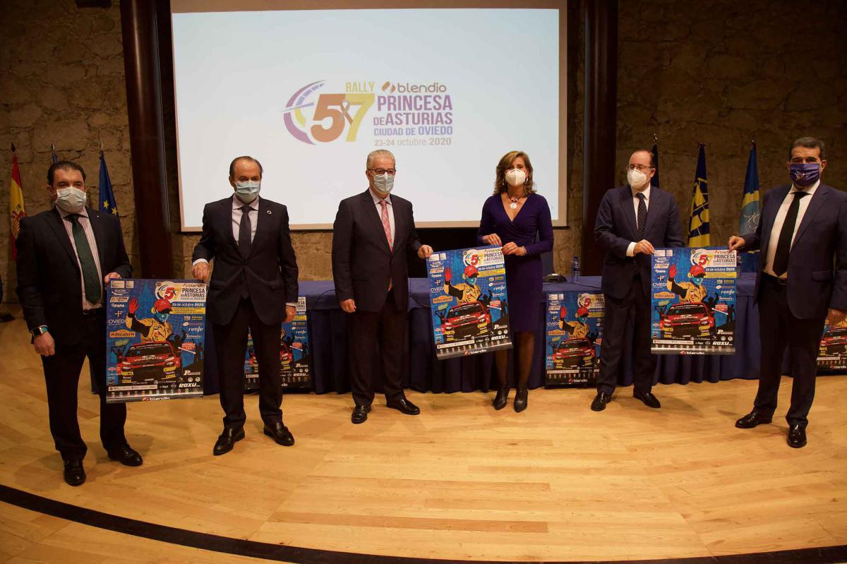 Presentado el 57 Rally Blendio Princesa de Asturias Ciudad de Oviedo
