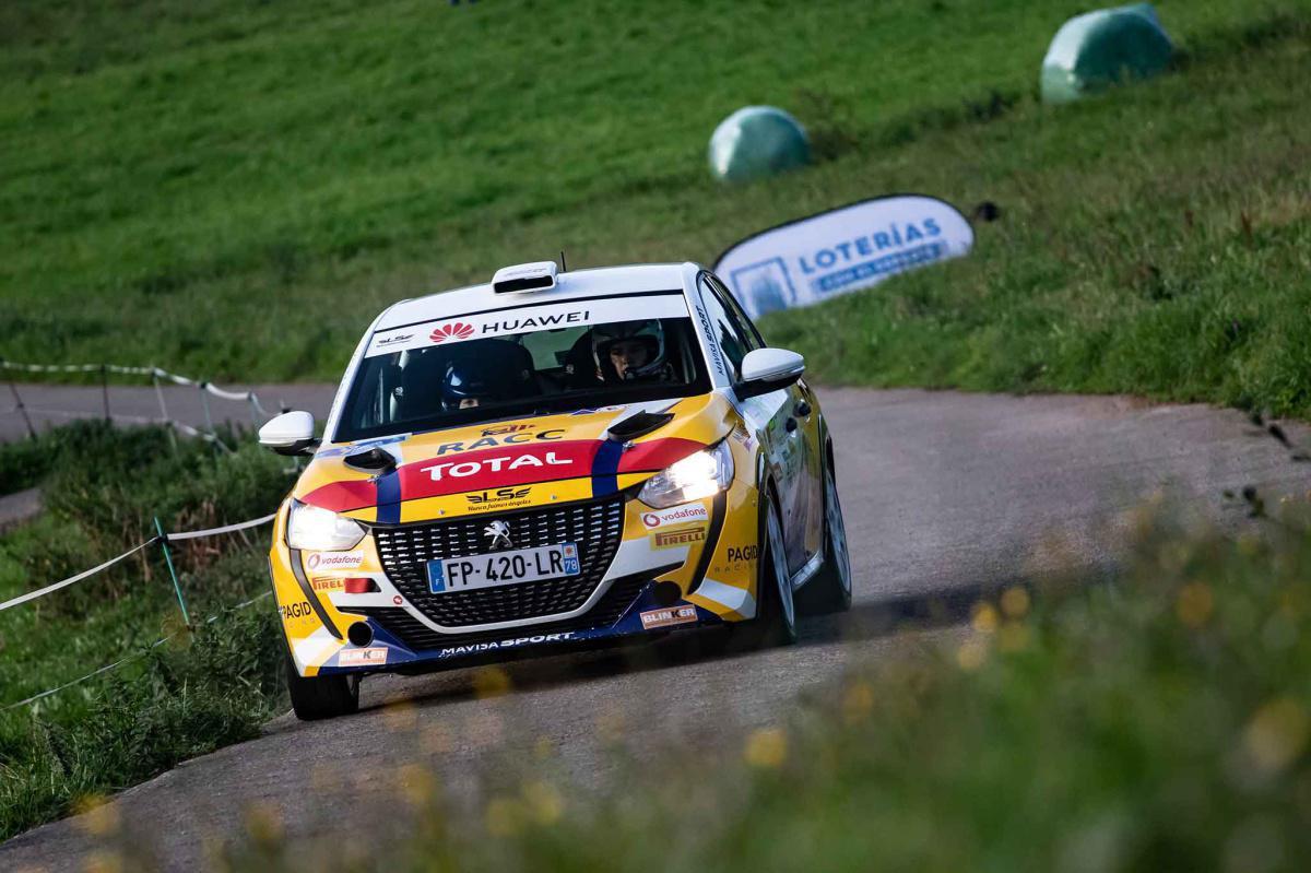 La Peugeot Rally Cup Ibérica volverá a estar en el Rally Blendio Princesa de Asturias Ciudad de Oviedo