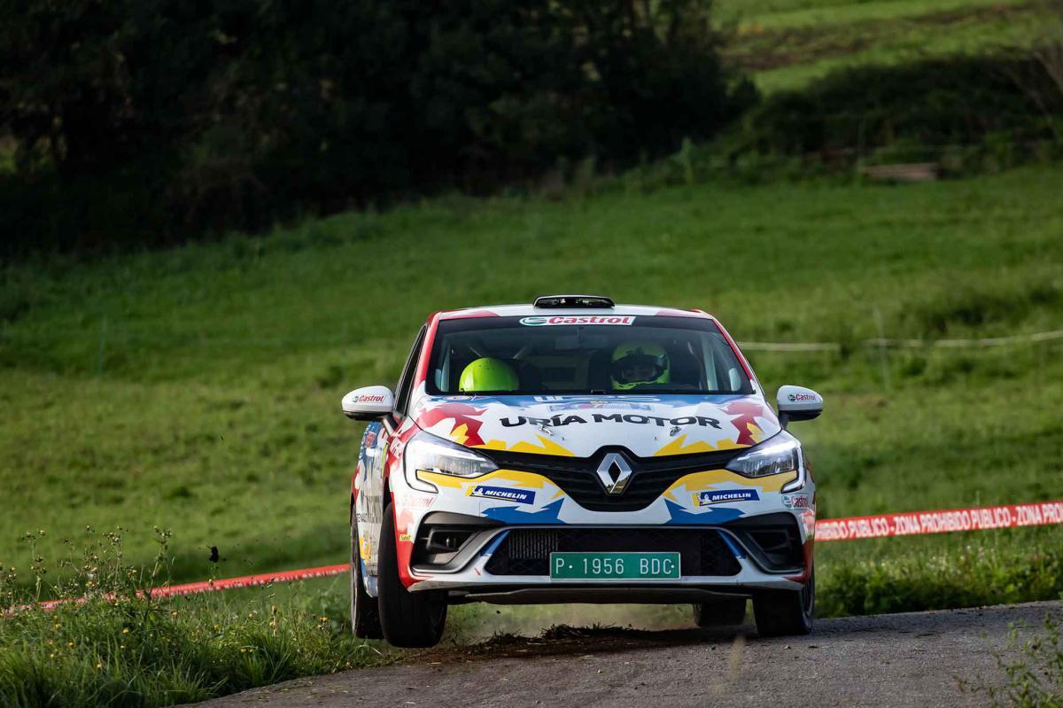 La Renault Clio Trophy España volverá a estar en el Rally Blendio Princesa de Asturias Ciudad de Oviedo