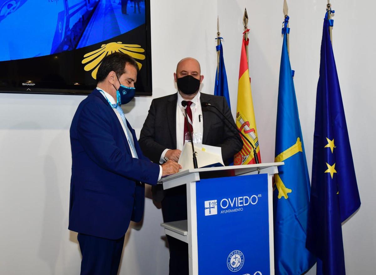 El Rally Blendio Princesa de Asturias Ciudad de Oviedo renueva su acuerdo con Renfe para promover el transporte sostenible