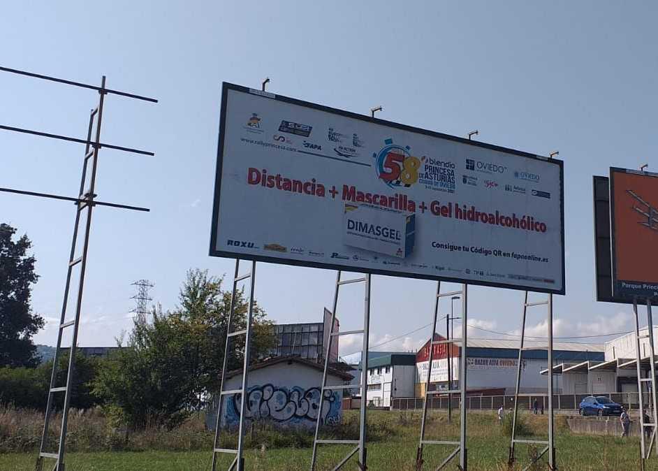 El Rally Blendio Princesa de Asturias lanza una campaña de concienciación sobre la Covid-19