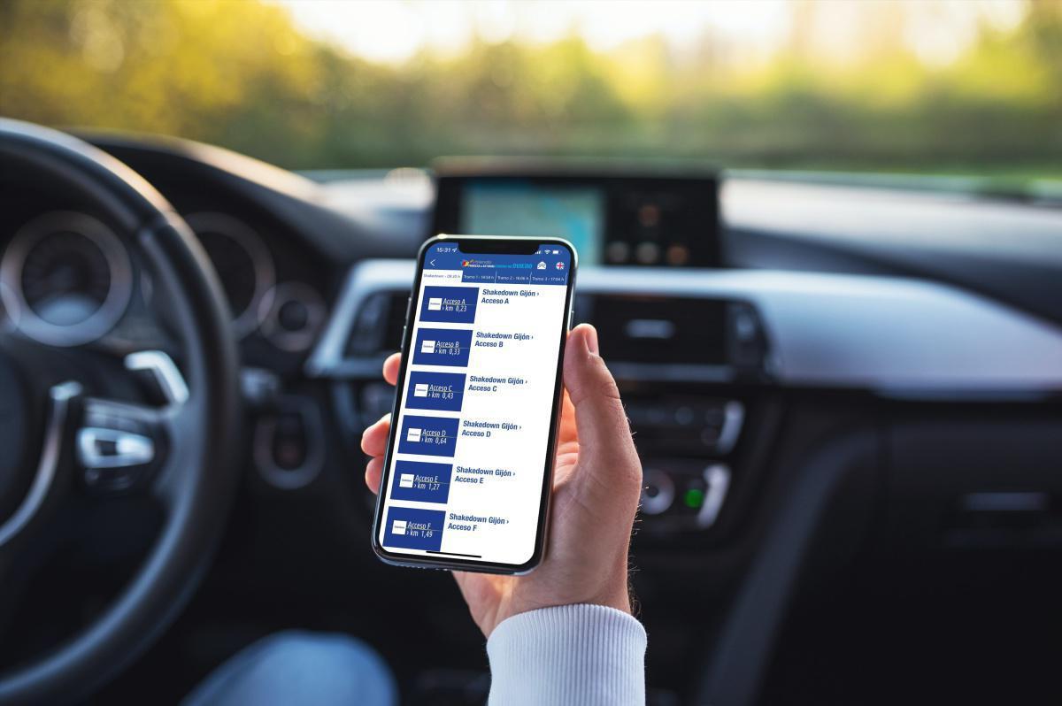 Disponibles los accesos GPS a los tramos