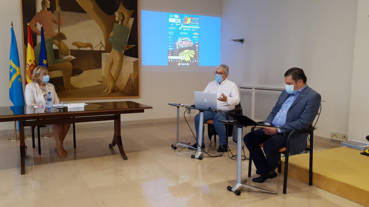 Reunión de seguridad del 58 Rally Blendio Princesa de Asturias Ciudad de Oviedo