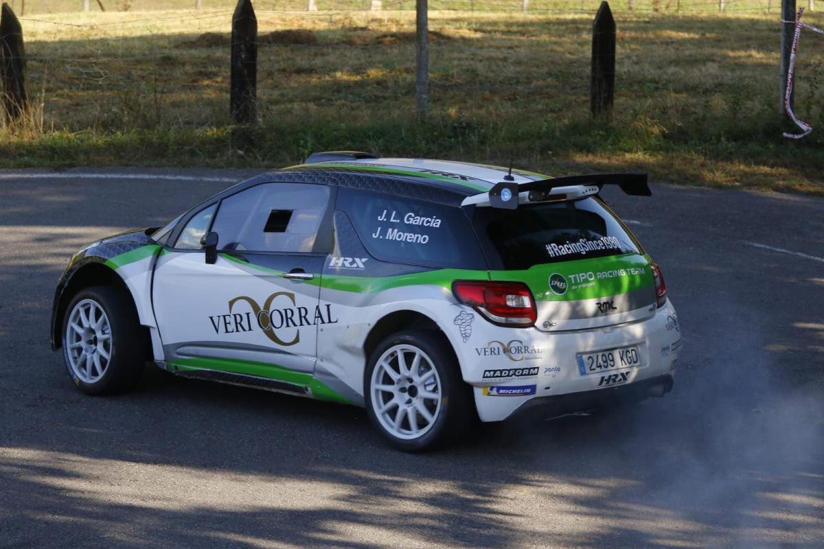Jornada de test oficiales del Rally Blendio Princesa de Asturias
