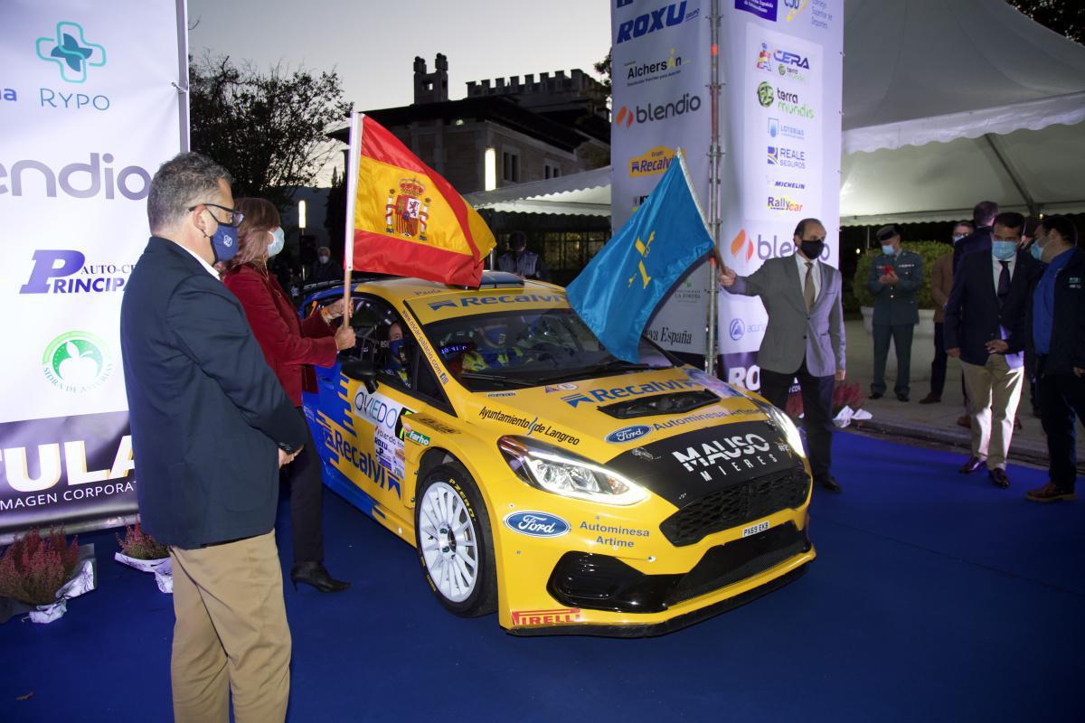 La ministra de Turismo presidirá mañana la salida protocolaria del Rally Blendio Princesa de Asturias