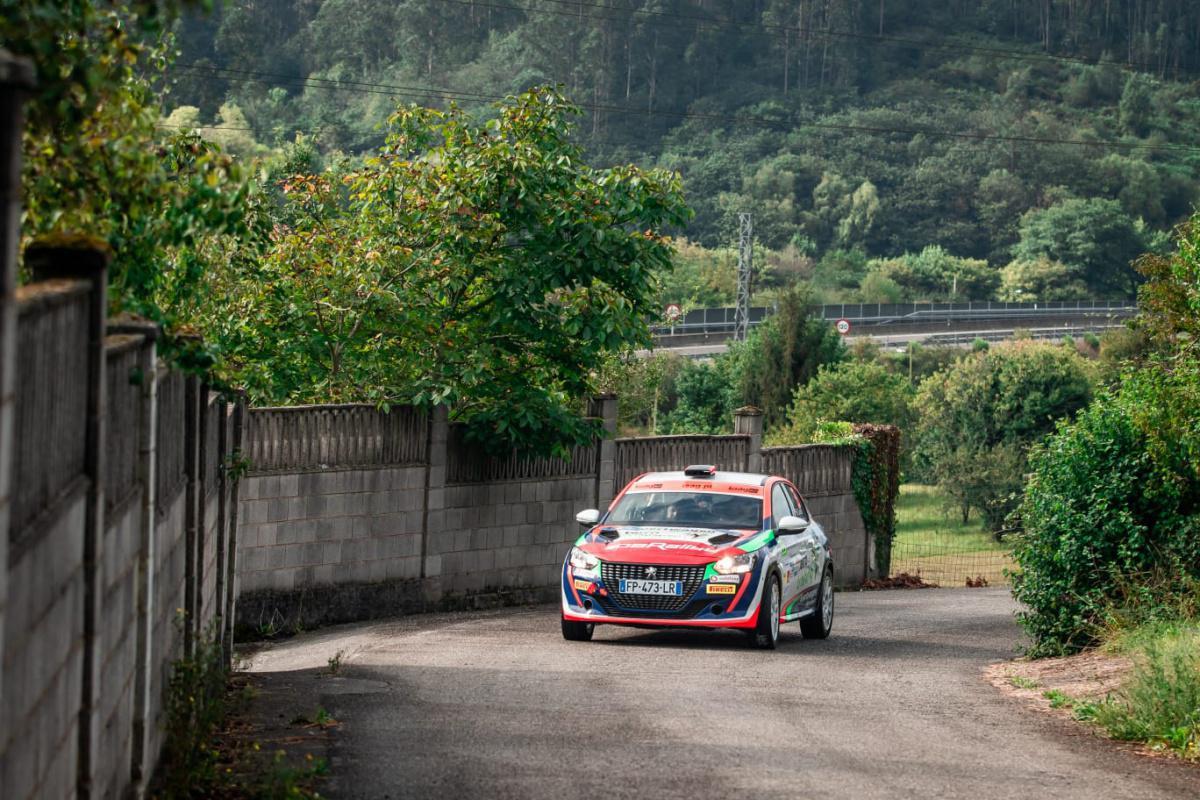 TC1 I Cohete marca el primer scratch del Rally Blendio Princesa de Asturias