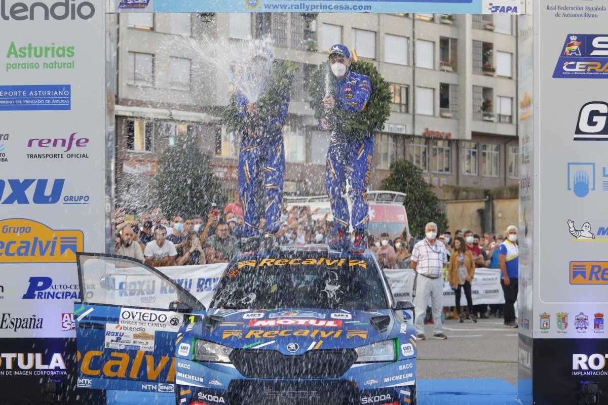 """Resumen final   Un """"Cohete"""" inalcanzable gana su cuarto Rally Blendio Princesa"""