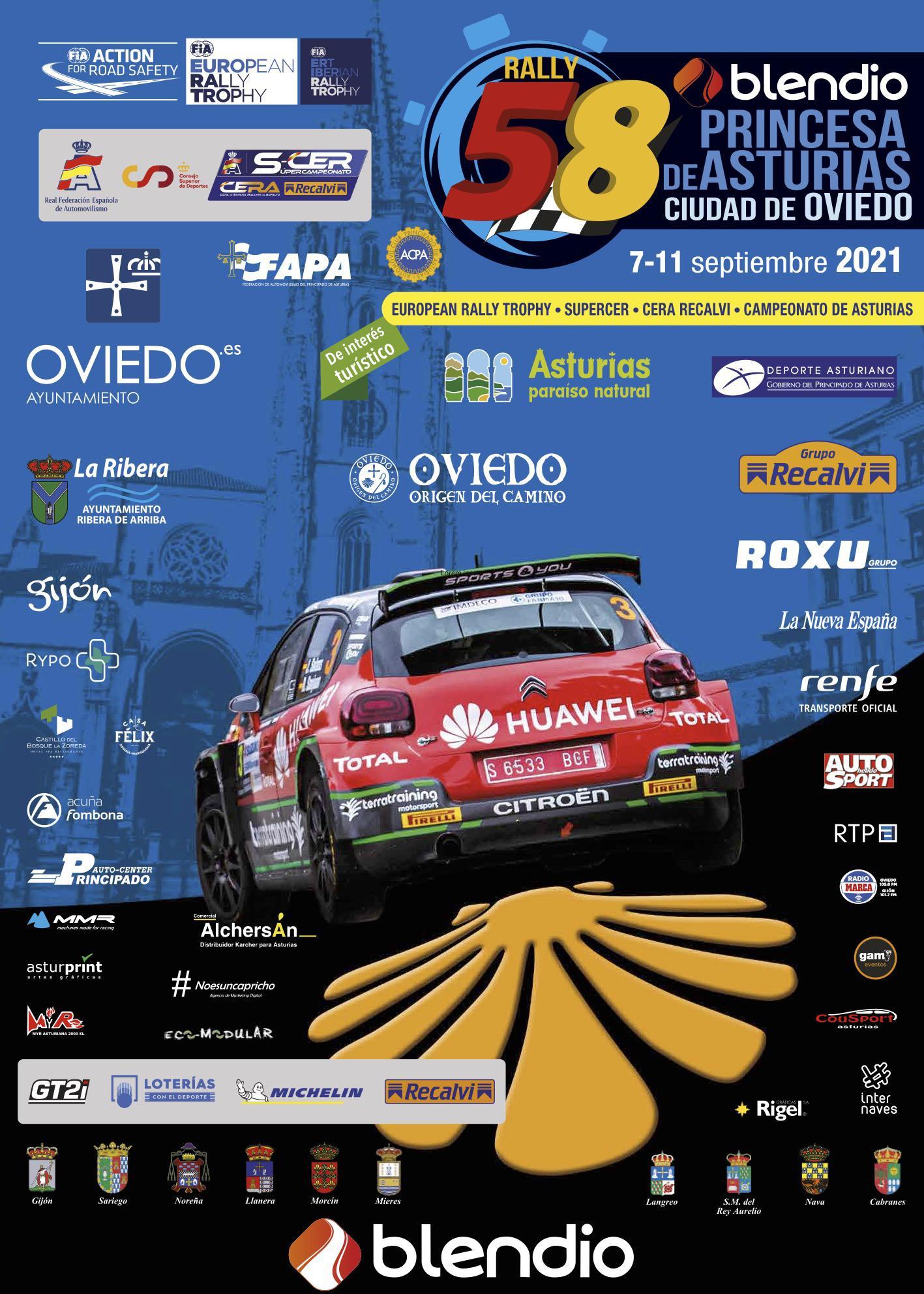 SCER + CERA: 58º Rallye Blendio - Princesa de Asturias Ciudad de Oviedo [10-11 Septiembre] 58453083-43165484