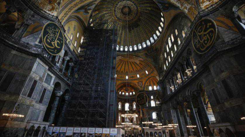 كنيسة آيا صوفيا السابقة في خمس نقاط