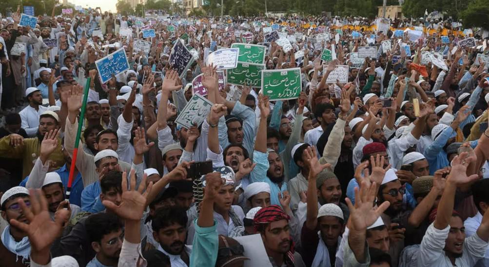 ثاني تظاهرة مناهضة للشيعة خلال يومين في كراتشي
