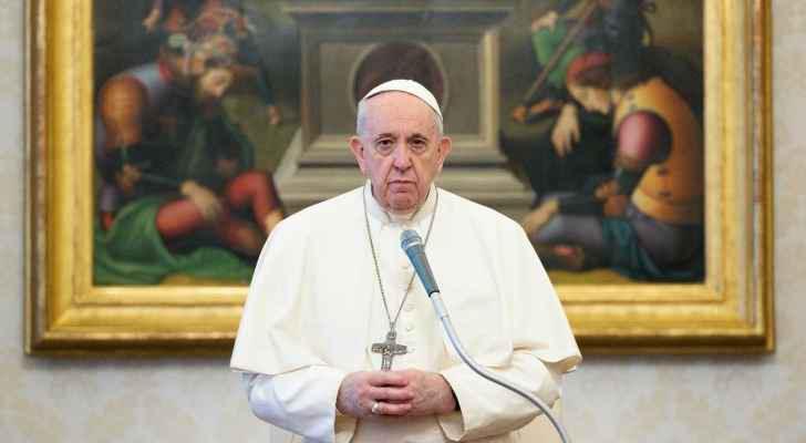 """البابا من أور في العراق يندد بـ""""الإرهاب الذي يسيء إلى الدين"""""""