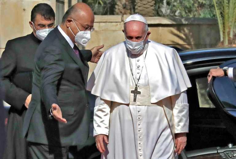 """البابا في العراق: """"لتصمت الأسلحة!"""""""