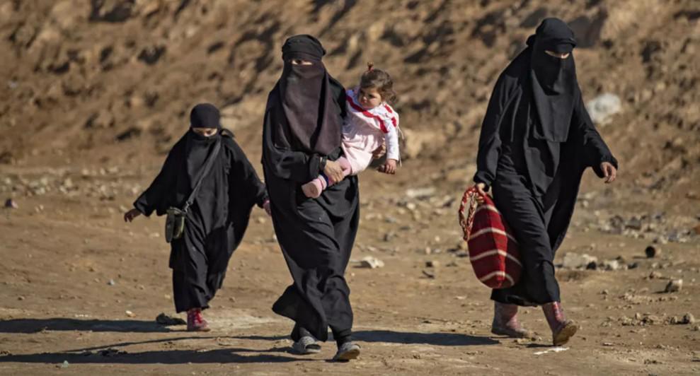 زوجات مقاتلين في تنظيم الدولة الاسلامية يروين حياتهن في سوريا في وثائقي جديد
