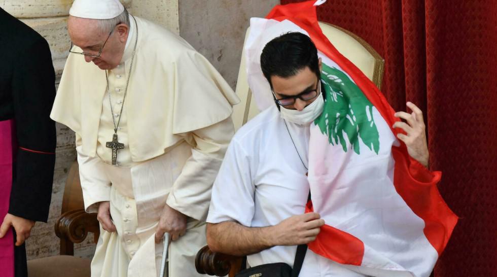 """البابا فرنسيس يلتقي قادة كنائس لبنان في يوم صلاة من أجل """"عطية السلام"""""""